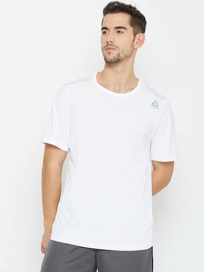 9c326ed75a Reebok Tshirts - Buy Reebok Tshirts Online in India | Myntra