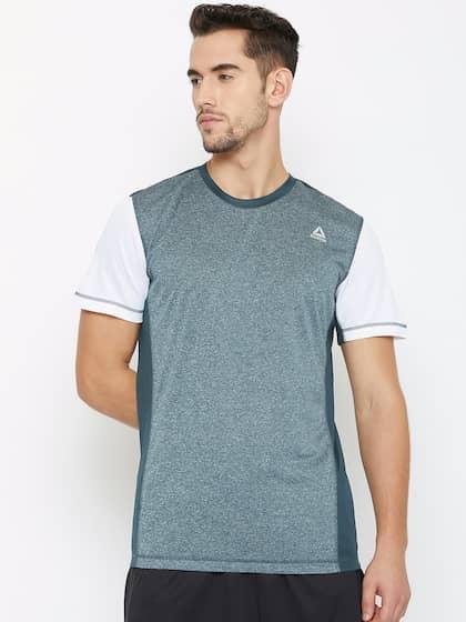 Reebok. Style Solid Round Neck T-shirt