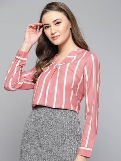 51e84f84da Pink Tops - Buy Pink Tops Online in India