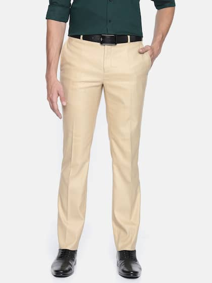 efe0104dd1 Men Formal Trousers | Buy Men Formal Trousers Online in India