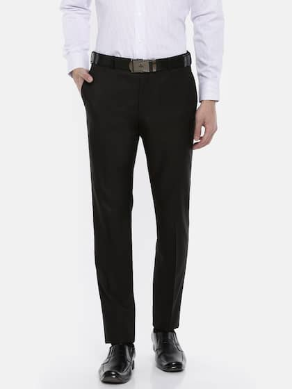 4e4a0cd98c1 Raymond. Men Slim Fit Formal Trousers