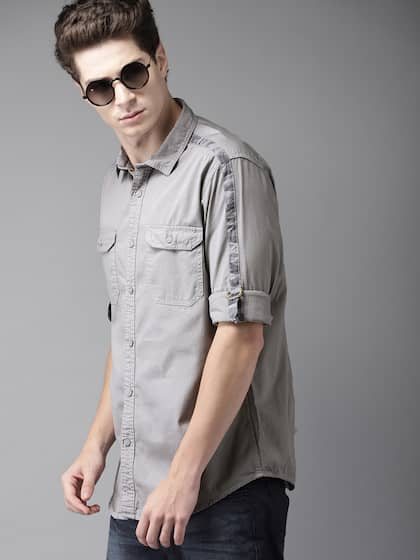 42a5d4d82 Shirts for Men - Buy Mens Shirt Online in India | Myntra