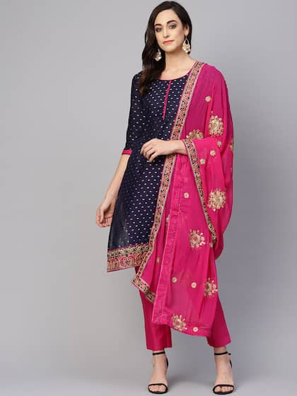 89ce674a70 Silk Dress Material - Buy Silk Dress Materials Online in India