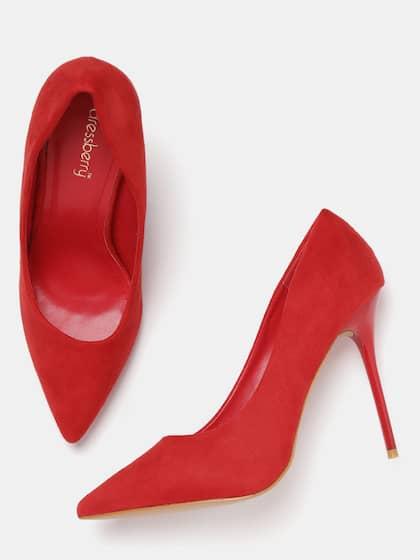 8039603aa216 Red Heels - Buy Red Heels Online in India
