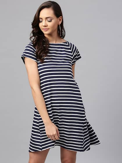 ea0bfe511b Striped Dresses - Buy Striped Dresses online in India