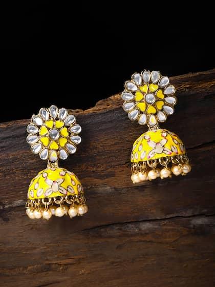 73a438fd81fde Jhumkas - Buy Jhumka Earrings Online in India | Myntra