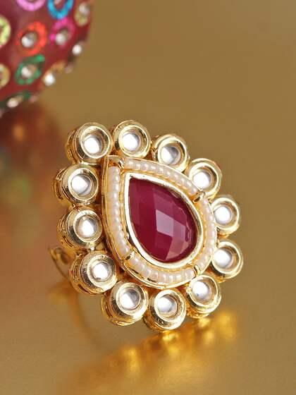 2c2487f73d758 Rings - Buy Rings Online for men & Women at best price | Myntra