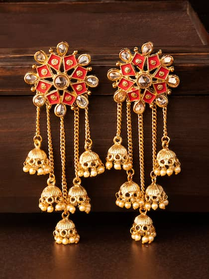 24aa8de43 Women Earrings Dupatta Sweaters - Buy Women Earrings Dupatta ...