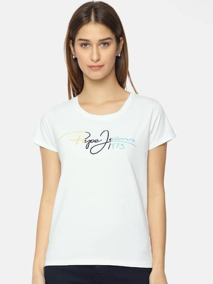 2e53fbe0 Pepe Jeans Tshirts - Buy Pepe Jeans Tshirts Online in India