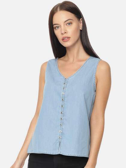 e8940bb83bb97 Pepe Jeans Women Tops - Buy Pepe Jeans Women Tops online in India