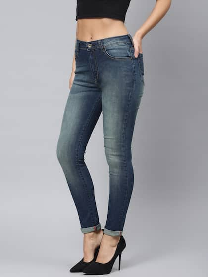 c020e4198cd Jeans for Women - Buy Womens Jeans Online in India   Myntra