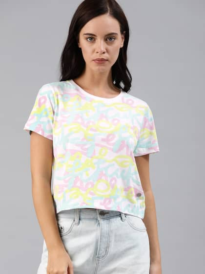73e2867f51f509 Ladies Tops - Buy Tops & T-shirts for Women Online | Myntra