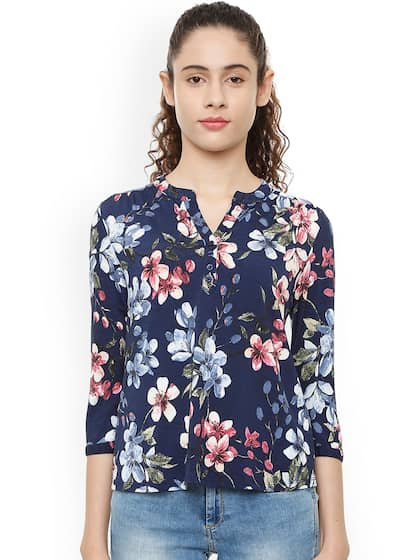 bf7a5d1fef19f8 Floral Print Tshirts - Buy Floral Print Tshirts online in India
