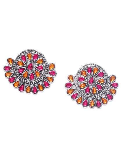 f297781fd Silver Earrings - Buy Silver Earrings Online in India   Myntra