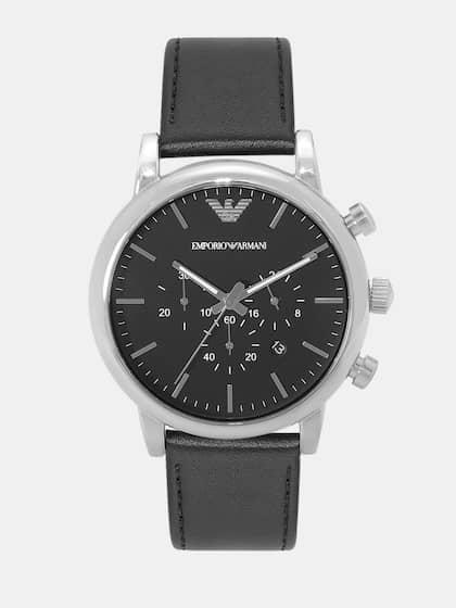 11eda15e39aef Emporio Armani Watches - Buy Emporio Armani Watches | Myntra