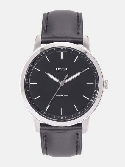purchase cheap 9550f feb6a Fossil Men Black Analogue Watch JR1401 SOR