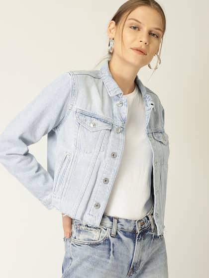 7294ea789 Women Denim Jacket - Buy Women Denim Jacket online in India