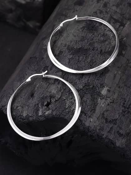 21c621a13 Hoop Earrings - Buy Hoop Earrings Online For Women & Girls | Myntra
