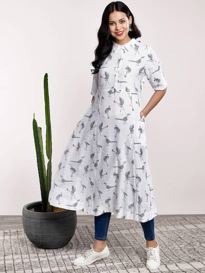 8e05416e8fb Kurtis Online - Buy Designer Kurtis   Suits for Women - Myntra