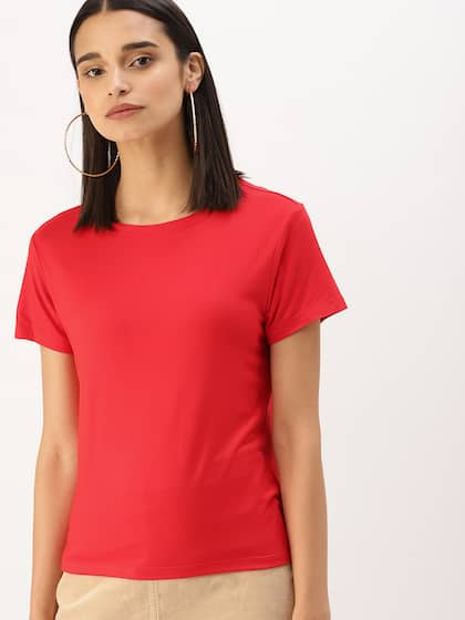 17aac7eec T-Shirts for Women - Buy Stylish Women's T-Shirts Online | Myntra