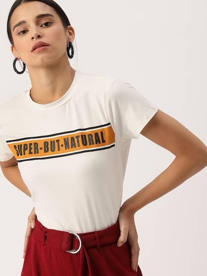 04be3051703 T-Shirts for Women - Buy Stylish Women's T-Shirts Online | Myntra