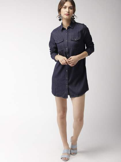 1b4c3cfbe7 Denim Dresses - Buy Denim Dresses Online in India