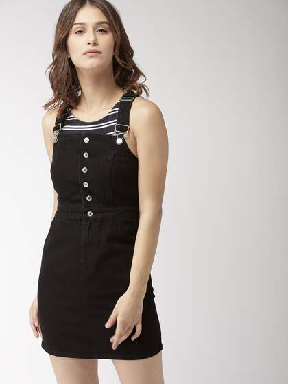 f4a637d3e7 Denim Dresses - Buy Denim Dresses Online in India