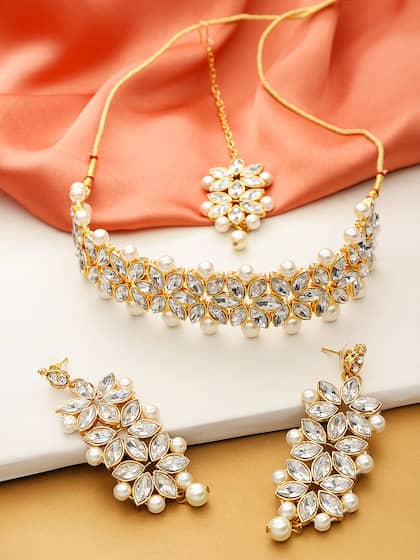 0782709f0cc Jewellery For Women - Buy Women Jewellery Online in India | Myntra