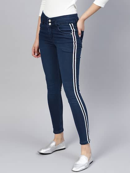 5f273cec90cf Jeans for Women - Buy Womens Jeans Online in India | Myntra