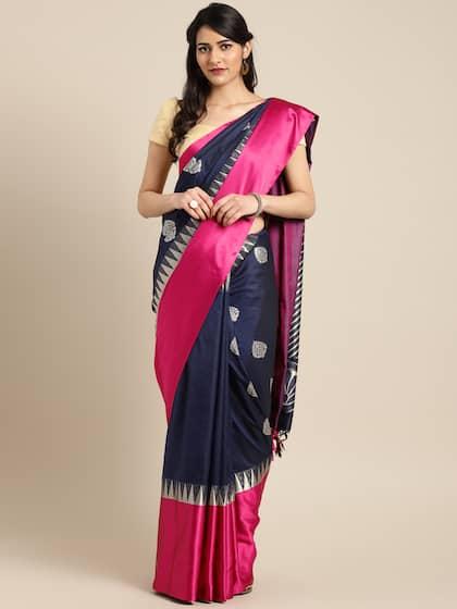 70151a5930544c Silk Sarees - Buy Pure Silk Saree Online in India   best price