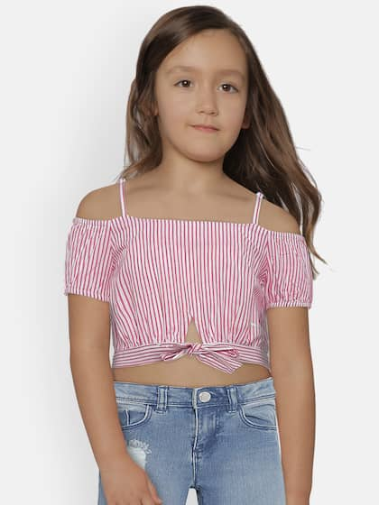 97df7ecb72e533 Girls Tops - Buy Stylish Top for Girls Online in India