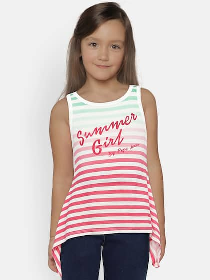 4f270188d20 Girls Tops - Buy Stylish Top for Girls Online in India | Myntra