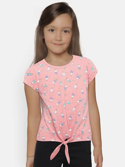 d7bebb011e482 Girls Tops - Buy Stylish Top for Girls Online in India   Myntra