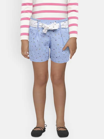 5d728cbaa Shorts For Girls- Buy Girls Shorts online in India - Myntra