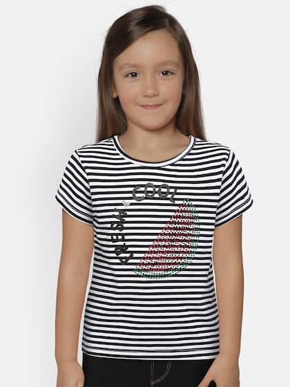 bc042918 Tops for Girls - Buy Girls Tops & Tshirts Online - Myntra