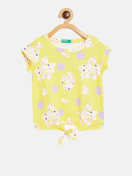 Girls Tops Buy Stylish Top For Girls Online In India Myntra