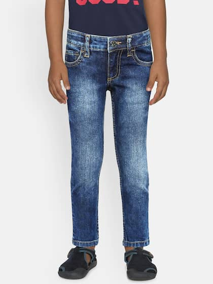 e86384d261b2d3 Boy's Jeans - Buy Jeans for Boys Online in India | Myntra