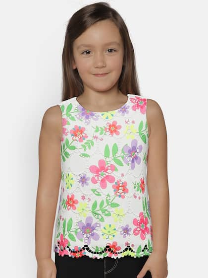 4bc32a35 Tops for Girls - Buy Girls Tops & Tshirts Online - Myntra