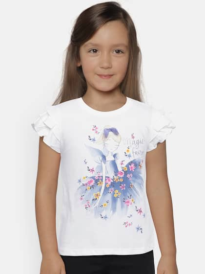 89918a46f1f4 Girls Tops - Buy Stylish Top for Girls Online in India | Myntra