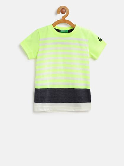 fafd86941 Kids T shirts - Buy T shirts for Kids Online in India Myntra
