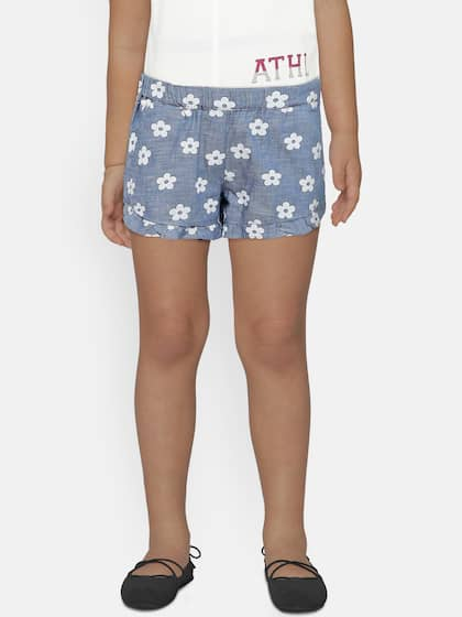 375923b019aac Shorts For Girls- Buy Girls Shorts online in India - Myntra
