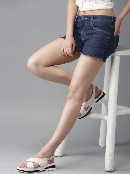 d68719d13b8 Women s Shorts - Buy Shorts for Women Online in India