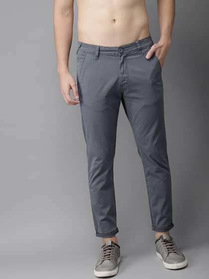 35dfbec999fecf Men Casual Trousers - Buy Casual Pants for Men in India - Myntra