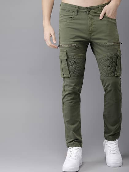 fa3bb84d Cargo Pants For Men - Buy Latest Trendy Cargo Pants Online | Myntra