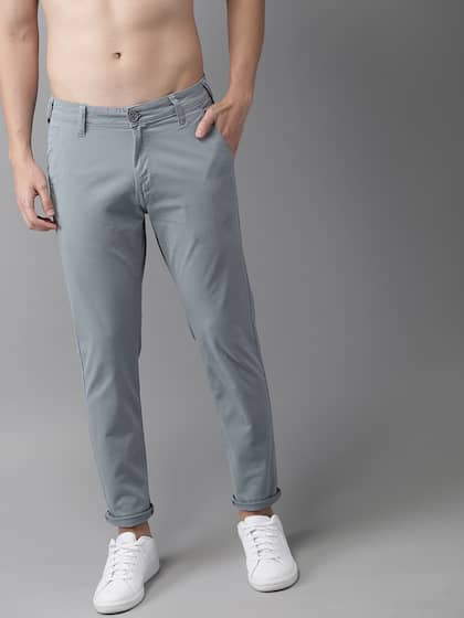 d2a652d34d77fd Cotton Trousers - Buy Cotton Pant & Trouser Online | Myntra