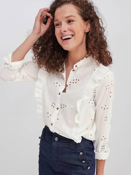c5b6bdb85 Long Shirts For Women - Buy Long Shirts for Women Online - Myntra