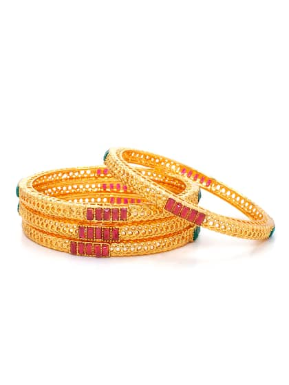 385b86f0ac6688 Bangles - Buy Bangles for Women & Girls Online in India | Myntra