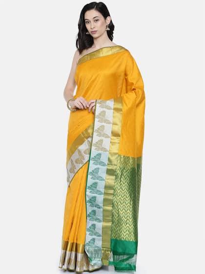 4710a013dde42 Cotton Silk Saree - Buy Cotton Silk Sarees Online