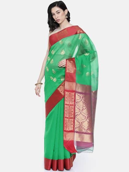 69ba5ff7a56637 Floral Sarees - Buy Floral Print Saree Online at Best Price