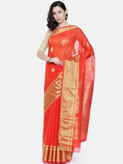 a8e446f53a3f5 Cotton Silk Saree - Buy Cotton Silk Sarees Online